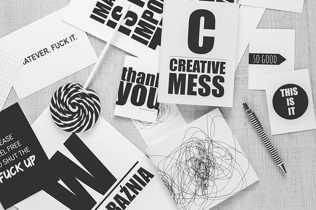 typografi för hemsida företag