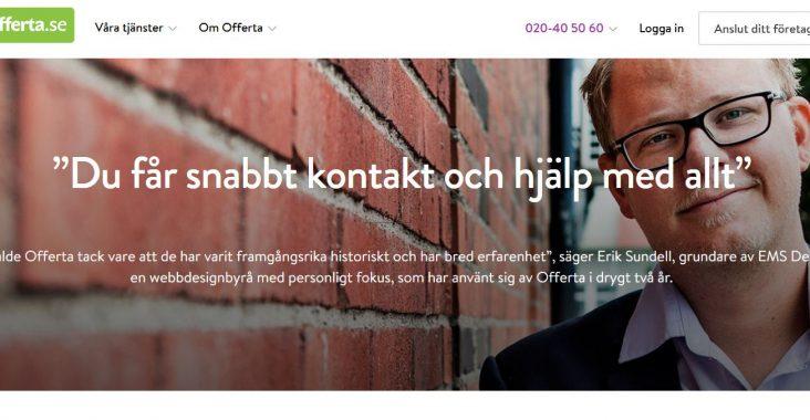 Offerta interjuv Erik Sundell